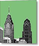 Philadelphia Skyline Liberty Place 2 - Apple Metal Print