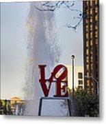 Philadelphia's Love Story Metal Print