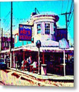 Philadelphia's Pat's Steaks Metal Print