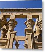 Philae Temple Egypt Metal Print