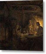 Philemon And Baucis Metal Print