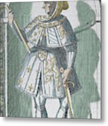 Philip IIi 'the Good' (dijon, 1396 Metal Print