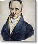 Philippe Pinel (1745-1826) Metal Print