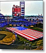Phillies American Metal Print by Alice Gipson