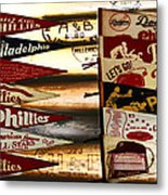 Phillies Pennants Metal Print