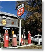 Phillips 66 With The Ranchero Metal Print