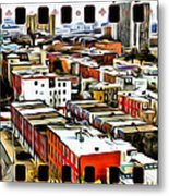 Philly Filmstrip Metal Print by Alice Gipson