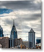 Philly From The East Metal Print
