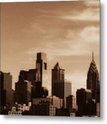 Philly Skyline 2013 Metal Print