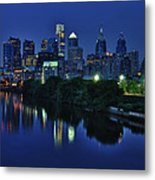 Philly Skyline Metal Print by Mark Fuller