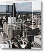 Philly Squared Metal Print