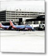 Phoenix Az Southwest Planes Metal Print