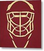 Phoenix Coyotes Goalie Mask Metal Print