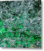 Phone Case - Liquid Flame - Green 2 - Featured 2 Metal Print