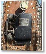 Phone Home - Route 66 Metal Print