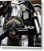 Phonograph Recording Cylinder Metal Print