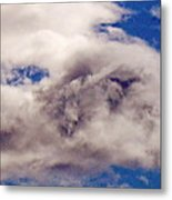 Phophet Coming Through The Clouds Metal Print