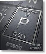 Phosphorus Chemical Element Metal Print