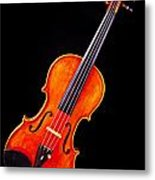 Photograph Of A Complete Viola Violin In Color 3368.02 Metal Print