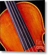 Photograph Of A Upper Body Viola Violin In Color 3369.02 Metal Print