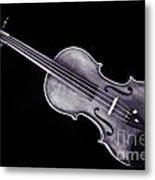 Photograph Of A Viola Violin Antique In Sepia 3376.01 Metal Print