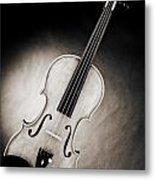 Photograph Of A Viola Violin Spotlight In Sepia 3375.01 Metal Print