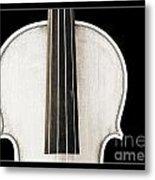 Photograph Or Picture Viola Violin Body In Sepia 3367.03 Metal Print