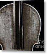 Photograph Or Picture Violin Viola Body In Sepia 3367.01 Metal Print
