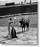 Photographers Including Dick Frontain Bullfight Nogales Sonora Mexico 1969 Metal Print