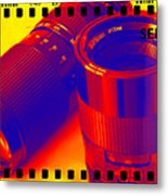 Photographic Lenses Metal Print