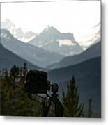 Photographing The Tonquin Valley Metal Print