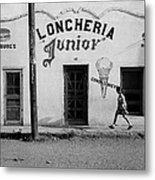 Photography Homage Russell Lee Us-mexico Border Naco Sonora Mexico 1980 Metal Print