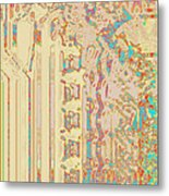 Photomicrograph Metal Print by Charles Ragsdale