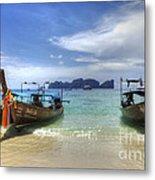 Phuket Koh Phi Phi Island Metal Print