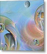 Phun With Quasars Metal Print