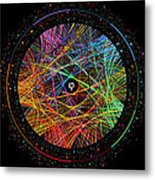 Pi Phi And E Transition Paths Metal Print
