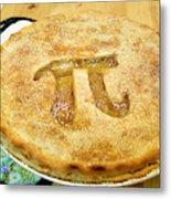 'Pi' Pie Metal Print
