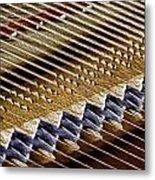 Piano Abstract 6582 Metal Print