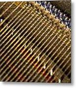 Piano Abstract 6611 Metal Print