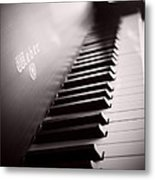 Piano At The Sprague House Metal Print