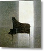Piano Room 2005 Metal Print by Lincoln Seligman