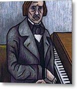 Piano's Finest Poet Fryderyk Chopin Metal Print