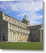 Piazza Del Duomo Pisa Italy  Metal Print