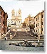 Piazza Di Spagna, Spanish Steps, Rome Metal Print