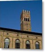 Piazza Maggiore Bologna Metal Print