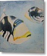 Picasso Triggerfish Metal Print