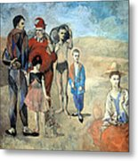 Picasso's Family Of Saltimbanques Metal Print