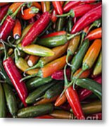 Pick A Peck Of Peppers Metal Print