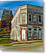 Pickens Wv Painted Metal Print