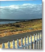 Picket Fence - Chambers Bay Golf Course Metal Print